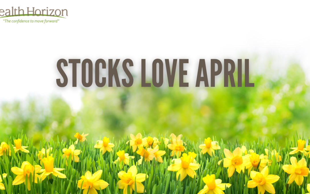 Stocks Love April